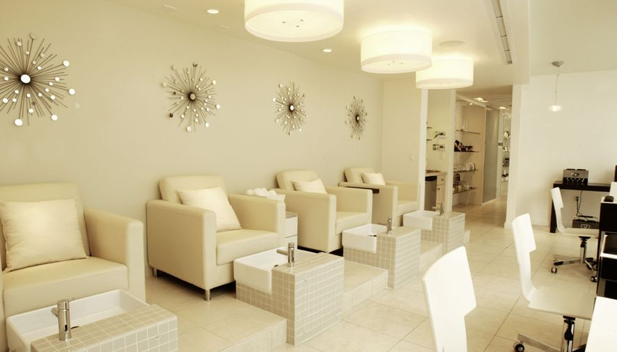 spa by bardot nail salon interior design
