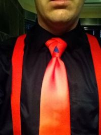 Superman Eldredge Knot Animated How to Tie a Necktie ...