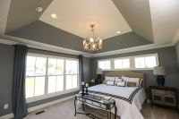 Angled Tray Ceiling - Crown Molding and Paint | For Later ...