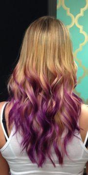 fun orchid purple ombr
