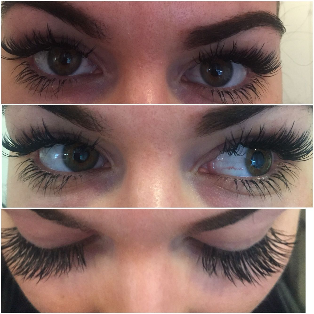 More of long lashes Russisn Lash extensions with bottom
