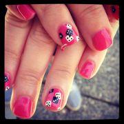 red vegas nails nail inspiration