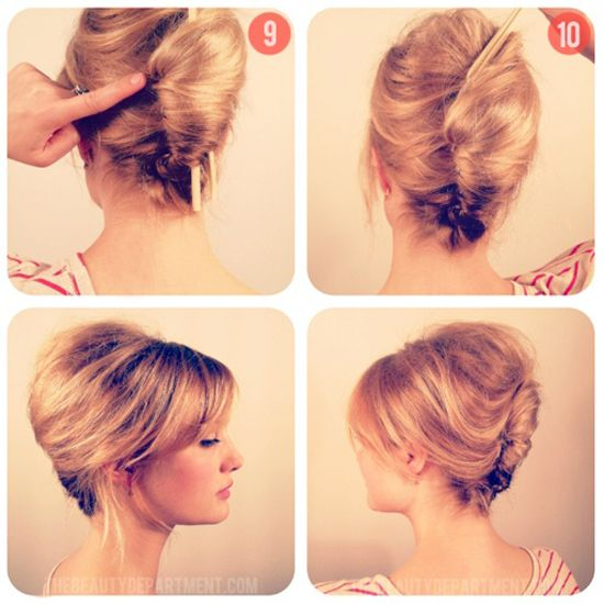 From The Great Gatsby To Mad Men 25 DIY Vintage Hairstyles Hair