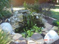 Backyard Pond Ideas With Waterfall. Affordable Backyard ...