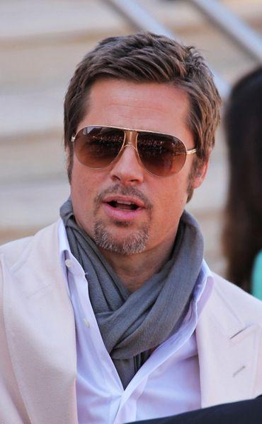 Männerfrisur Kurz Brad Pitt Frisur Pinterest