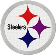 pittsburgh steelers logo embroidery