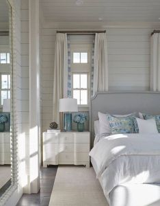 Light blues and neutrals create  calming coastal casual bedroom normandeauwc nautical home pinterest bedrooms lights also www rh