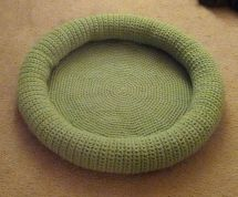 Dog Bed Free Crochet Pattern Year Of Clean Water