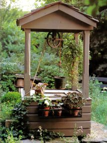 Old-Fashioned Wishing Well