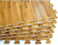 Playroom flooring Amazon.com: 24 SQFT We Sell Mats Wood ...