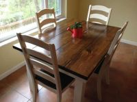 Sue 4.5ft foot long farmhouse dining kitchen table all ...