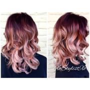 result rose gold red