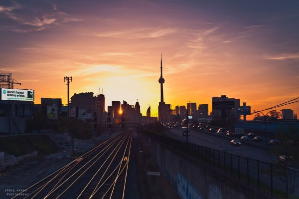 Canada Toronto Ontario Sunrise Wallpaper Travel And Wallpapers