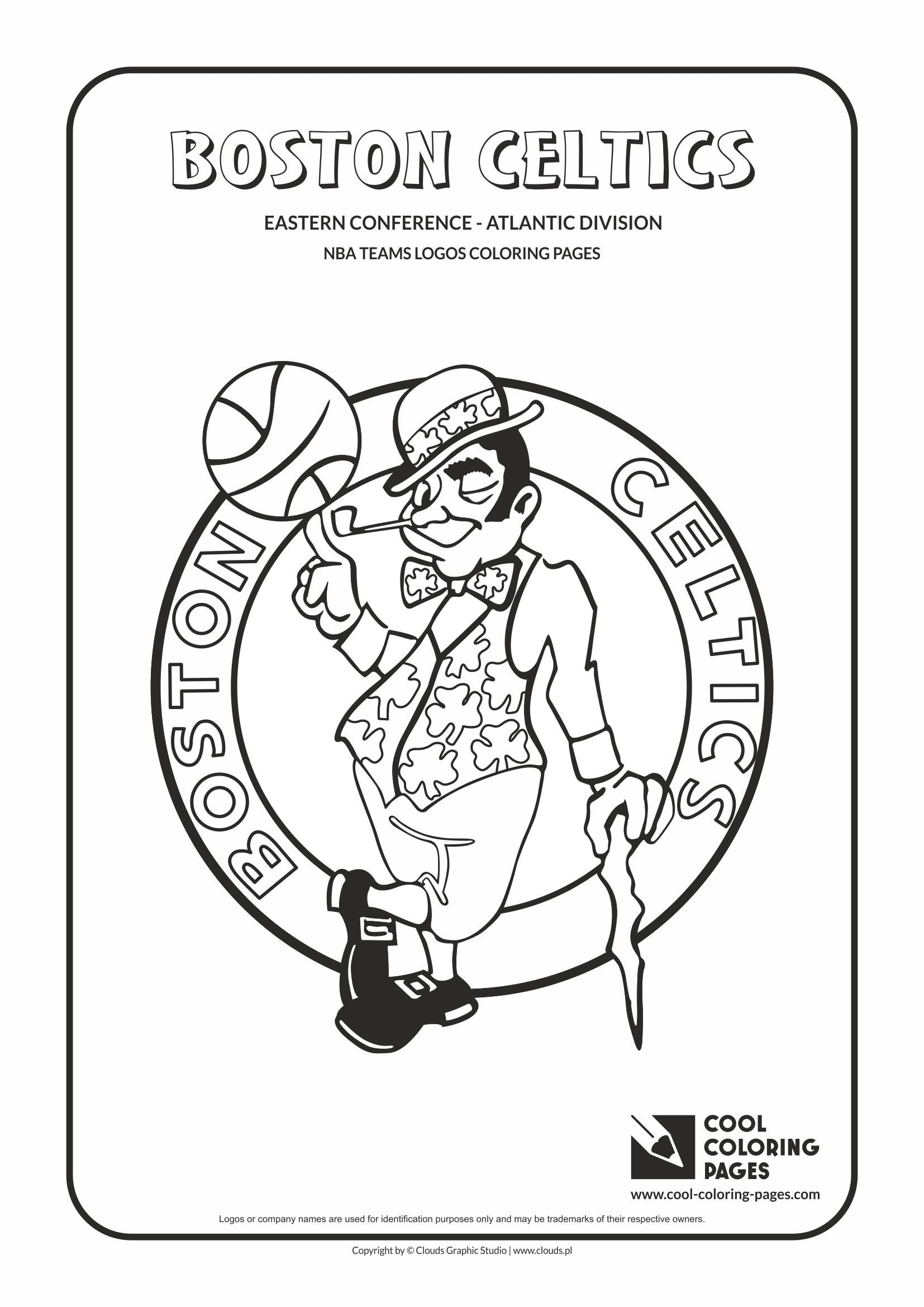 Boston Celtics Coloring Sheets