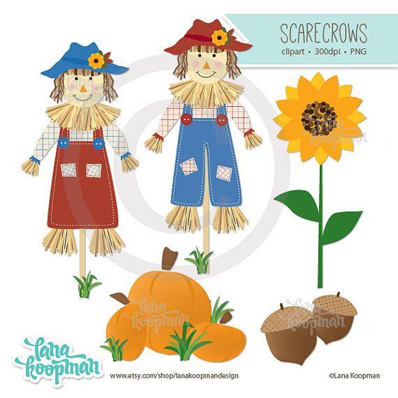 scarecrow clipart pumpkin clip