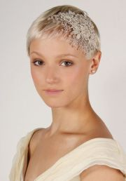 wedding hats short hair - google