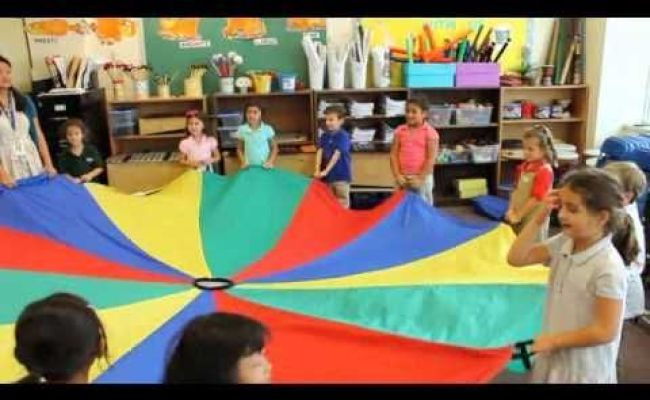 The Parachute Song Can Use A Parachute To Teach Fast And