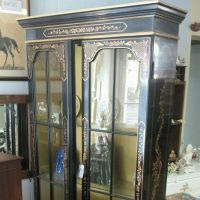Mid century Chinoiserie display cabinet for sale in our ...