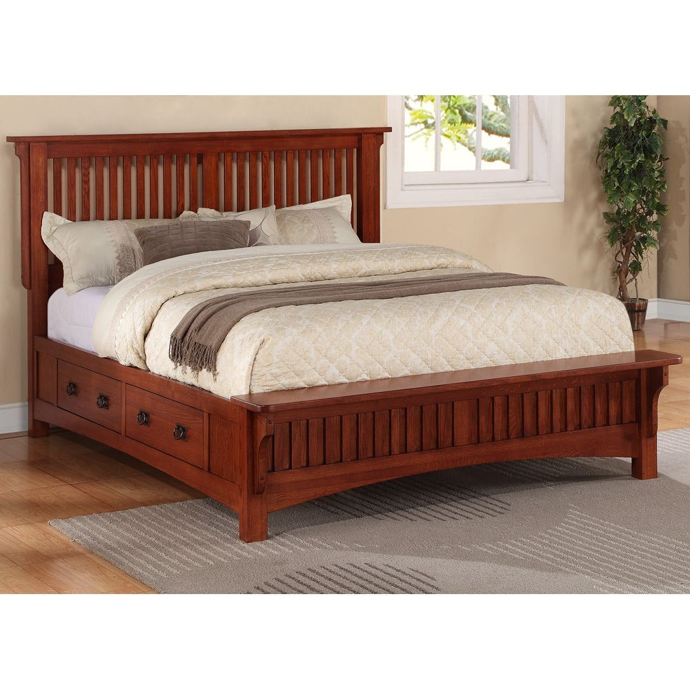 Style Wood Frames And Mission Bed Headboards