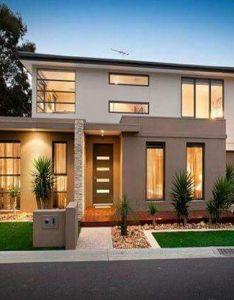 House facade ideas exterior design and colours also lindo nha vuon pinterest rh za