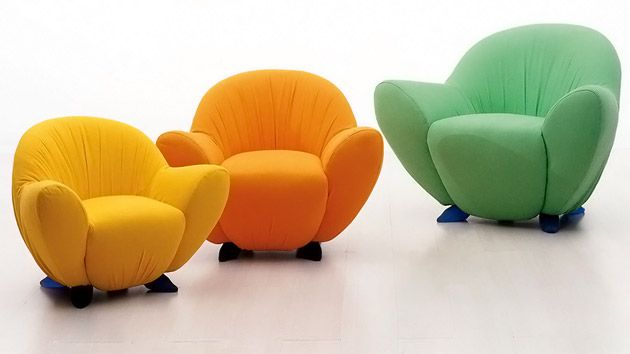 bedroom: adorable nice colorful soft simple small comfy chair for