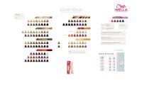 Wella Professionals Color Touch Color Chart. | Wella ...