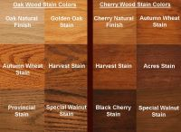 Kitchen: Cherry Oak Stain Colors Final. High-def ...
