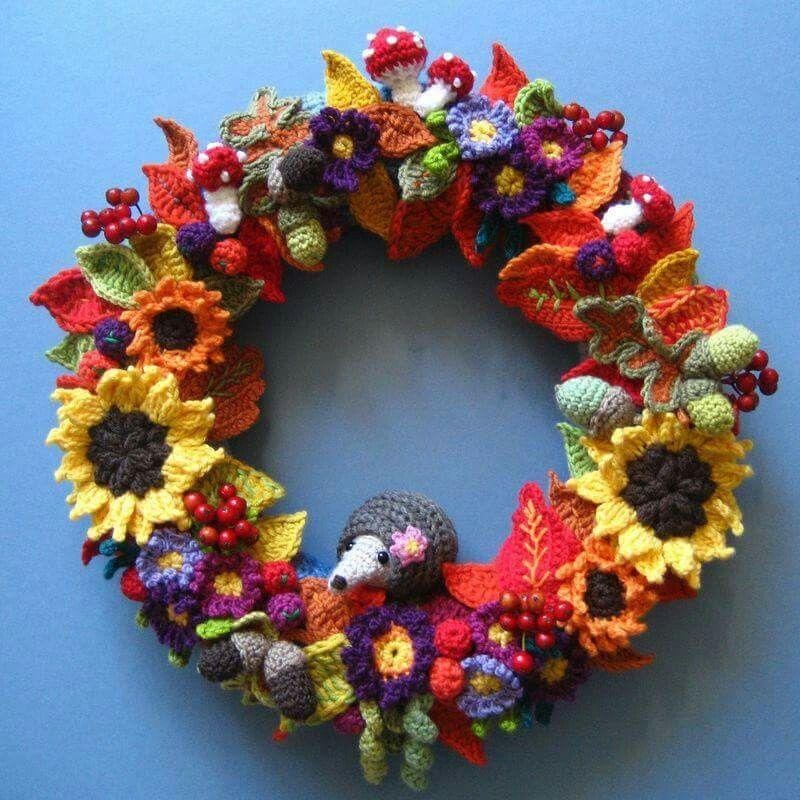 Afbeeldingsresultaat voor autumn wreath attic