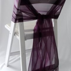 Cheap Burlap Chair Sashes Swivel For Two Lux Diy Folding Covers With Purple Ribbons  Pinteres