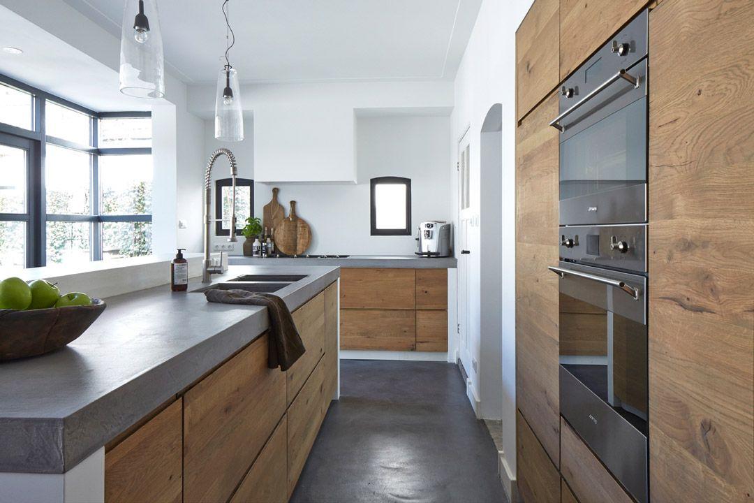 100 idee di cucine moderne con elementi in legno  Kitchens House and Modern