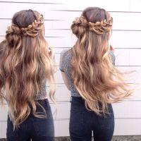 Woven waterfall braid #glambytoriebliss | Natural Hair ...