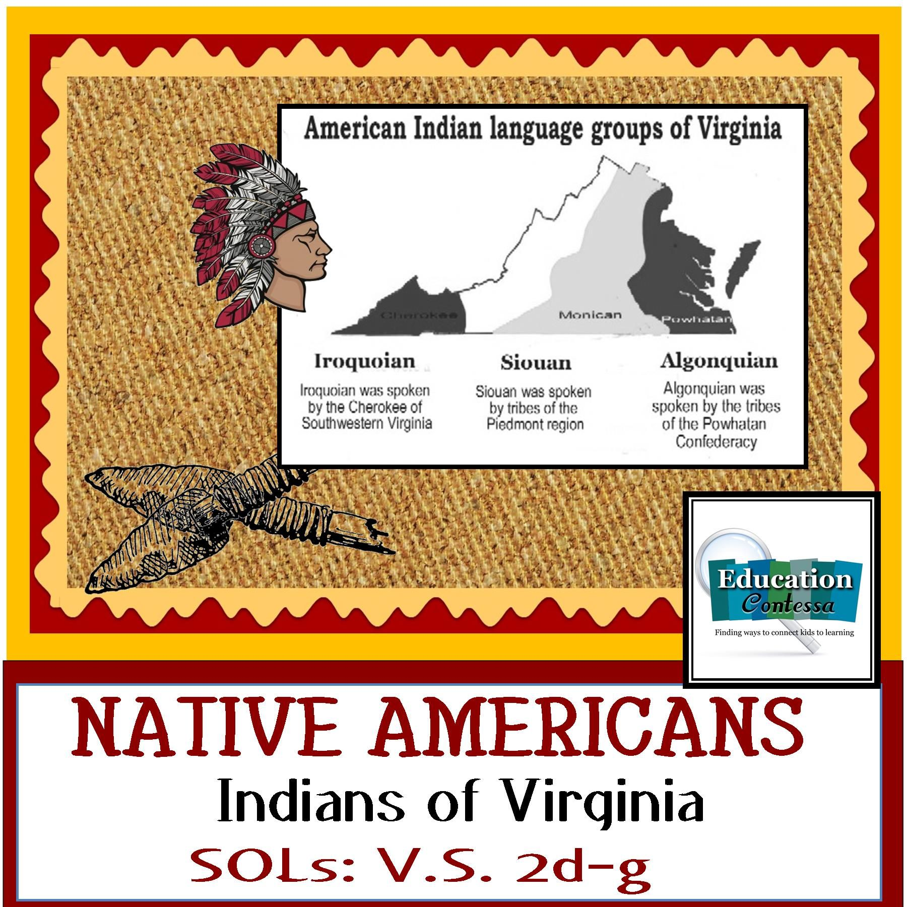 Native American Indians Of Virginia