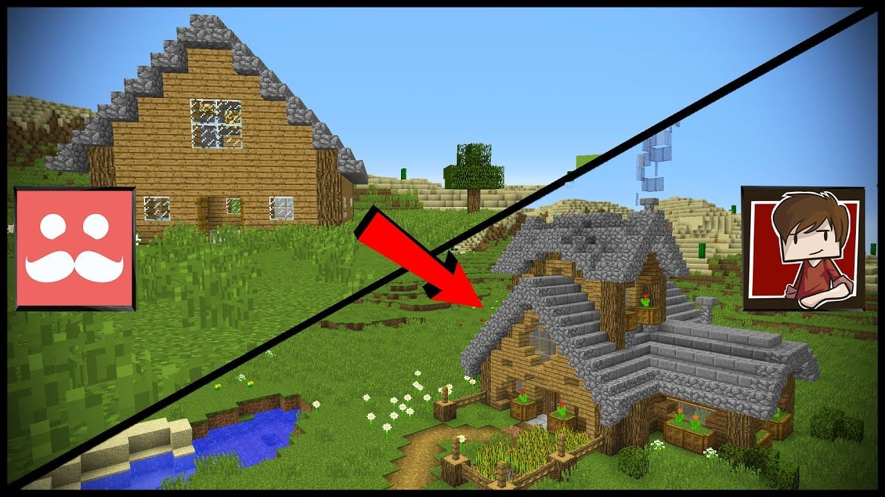 Transforming Mumbo's Minecraft Redstone House! Minecraft