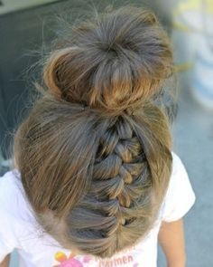 How To Style Little Girls' Hair Cute Long Hairstyles For School