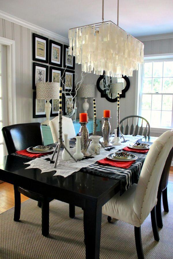 Large Capiz Chandelier Modern West Elm Sparkle Dining
