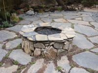 Classic Natural Stone Fire Pit | Natural Stone Fire Pits ...