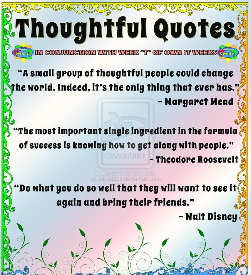 Thoughtful Quotes Quotes For A Thoughtful Friend Picture