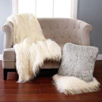 Comfy Faux Sheepskin Rug for Floor Decor Ideas: Faux ...