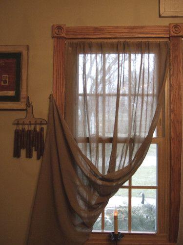 Primitive Curtains And Valances