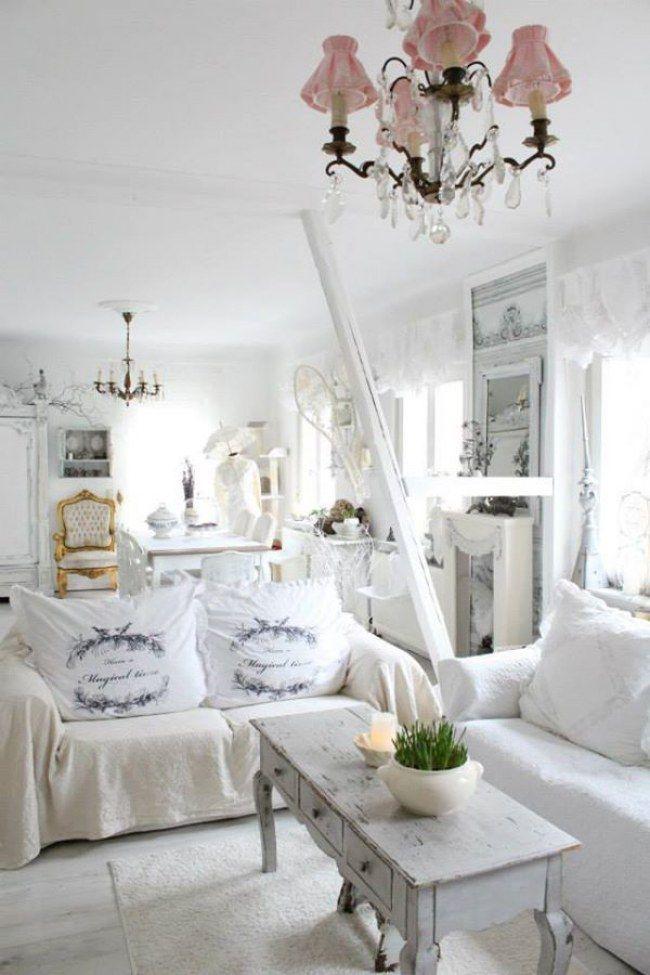 Wohnzimmer im Shabby Chic Stil  noch mehr Ideen auf www