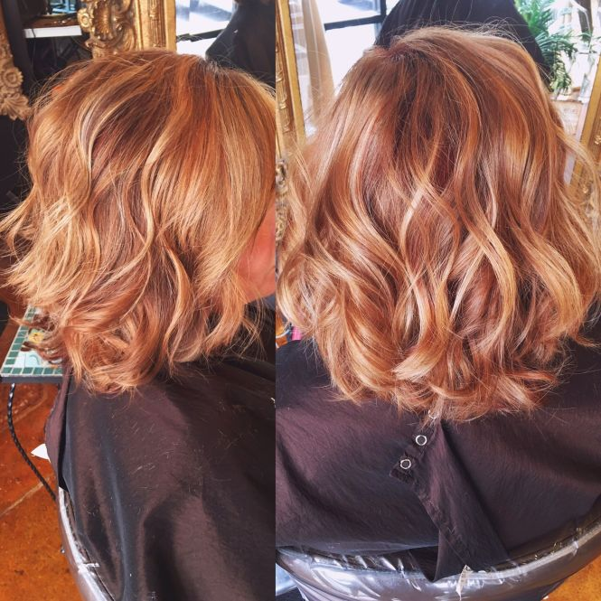 Red hair color with blonde highlights the best hair 2017 best 25 red hair blonde highlights ideas on pmusecretfo Choice Image