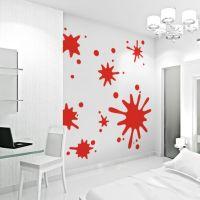 for ian's room wallums.com Paint Splatter Wall Art Decals ...