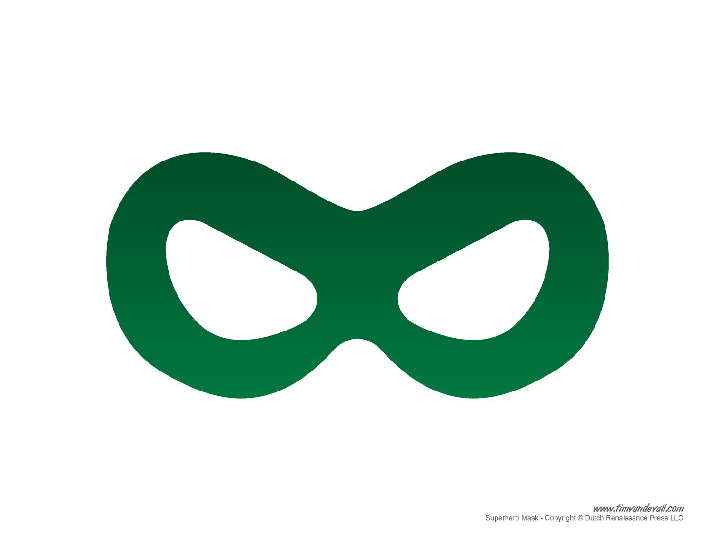Timvandevall Wp Content Uploads Green Superhero Mask Template