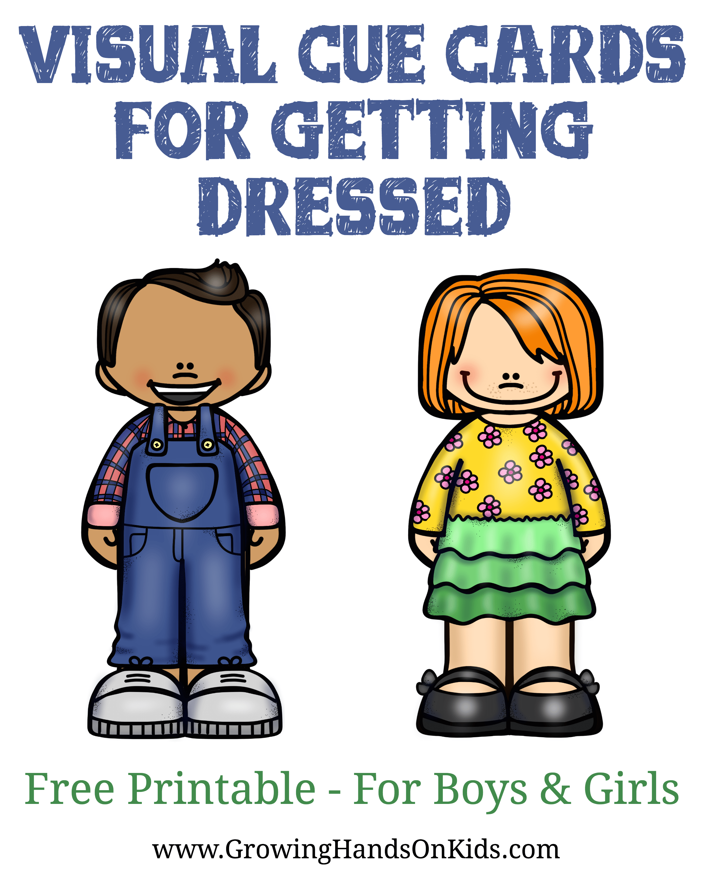 Improving Following Directions With Getting Dressed For
