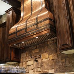 Country Kitchen Range Hoods Round Table Sets For 4 Art Of Rain Hood Off This Beautiful Copper