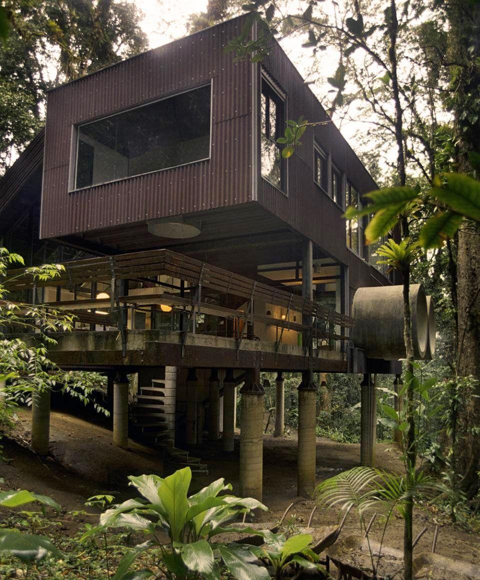 Tropical Beach House In The Brazilian Jungle Editor Beach