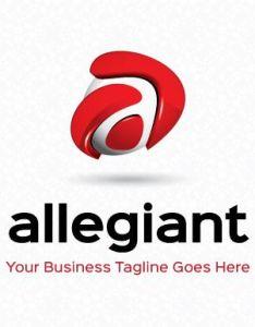 Allegiant logo template by mudassir on creativemarket also  to  rh pinterest