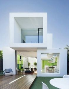 House exterior colors modern white houses from around the world this looks like it   been made by stacking blocks on top of each other also pin sandii moriita arquitectura pinterest box rh