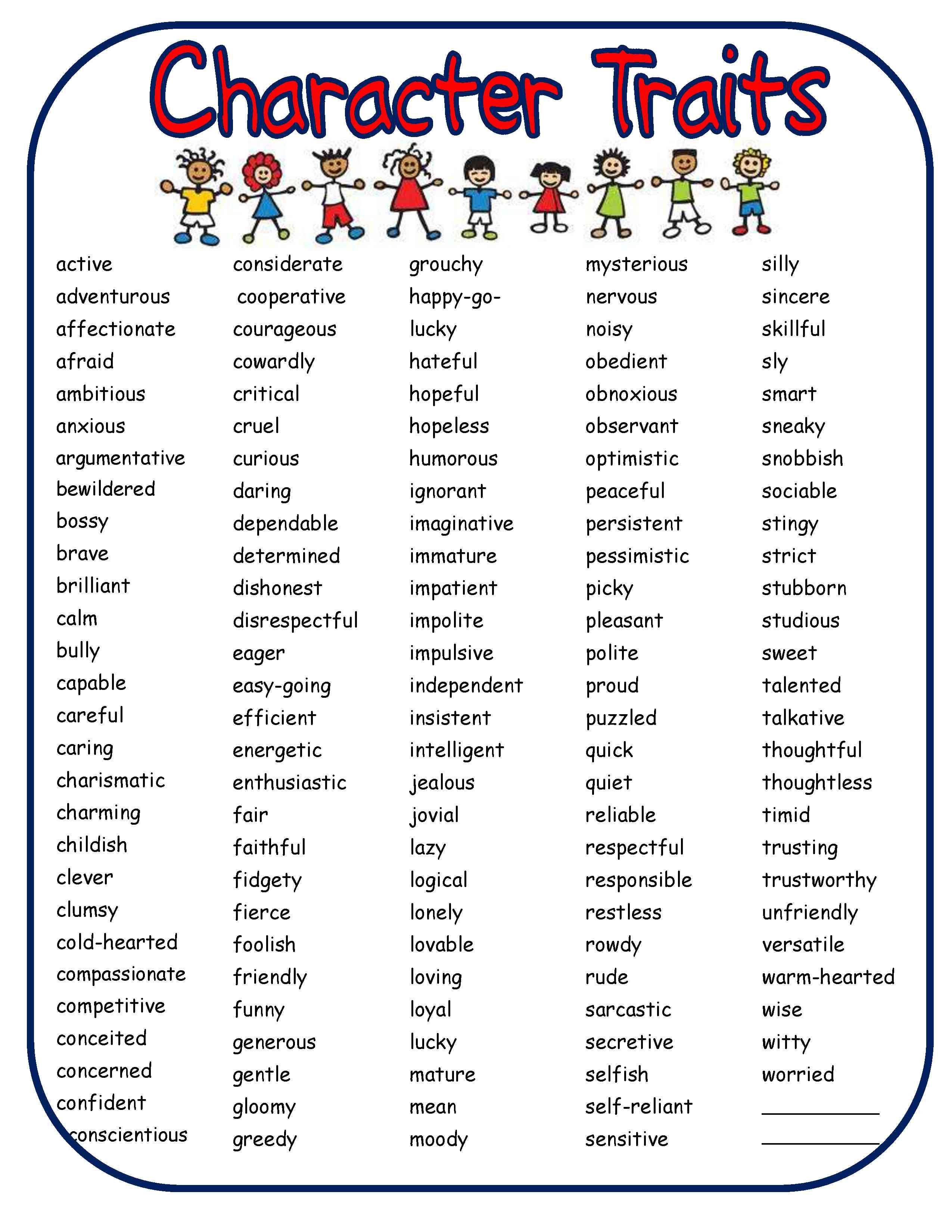 Mas De 25 Ideas Increibles Sobre Adjetivos De Personalidad