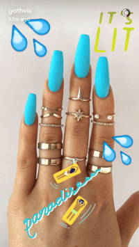 The 25+ best Acrylic summer nails coffin ideas on ...